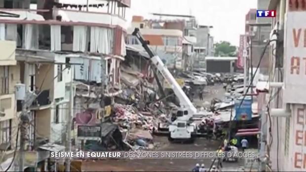 Un séisme secoue l'Equateur : au moins 233 morts
