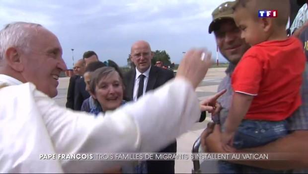 12 réfugiés syriens au Vatican : le message du pape à l'Europe