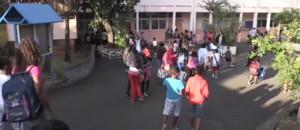 À La Réunion, 225.000 élèves ont repris le chemin de l'école