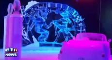 Allemagne : le rock des années 1960 sculpté dans la glace