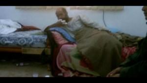 Image diffusée à la télévision libyenne et montrant un homme présenté comme Seif al-Islam, fils de Mouammar Kadhafi, en détention (19/11/2011)
