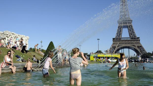La canicule à Paris