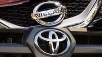 Logos Nissan Toyota