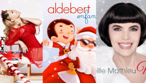 Noël chansons Kylie Minogue Aldebert Mireille Mathieu