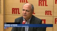 """Pour Bruno Le Roux, la baisse du chômage est lente """"mais réelle"""""""