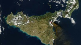 TF1/LCI Etna volcan Sicile Italie NASA
