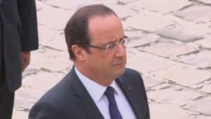 François Hollande, le 11 juin 2013