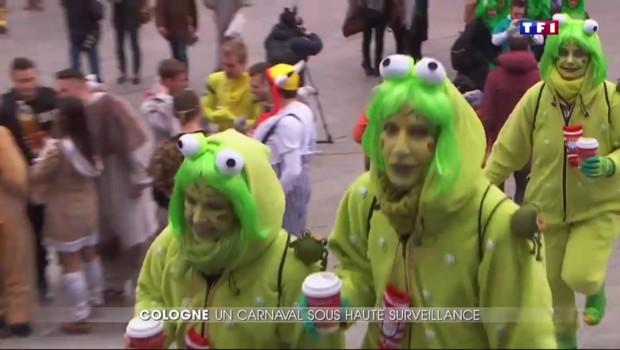 Le carnaval de Cologne sous haute surveillance