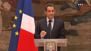 """Sarkozy au monde religieux : """"je refuse toute vision intégriste de la laïcité"""""""