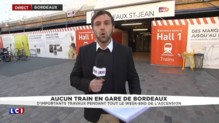 Week-end de l'Ascension : aucun train en gare de Bordeaux, d'importants travaux prévus