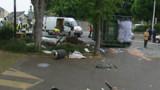 Un camion écrase un abribus : le chauffeur mis en examen