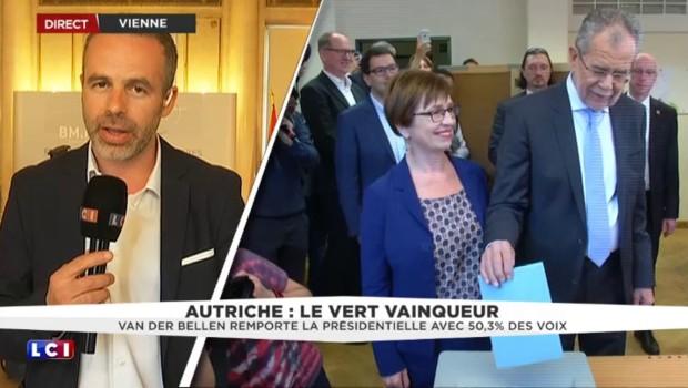 Autriche : l'écologiste Alexander Van der Bellen élu président