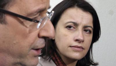 François Hollande et Cécile Duflot