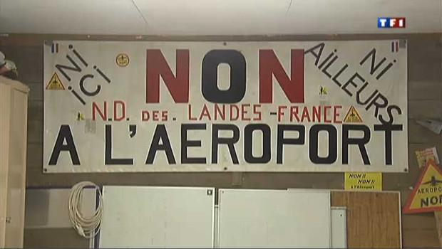 Notre-Dame-des-Landes en guerre contre le futur aéroport de Nantes
