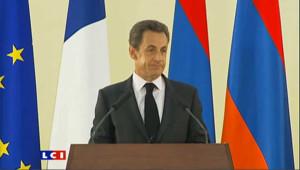 Sarkozy demande à la Turquie de reconnaître le génocide arménien