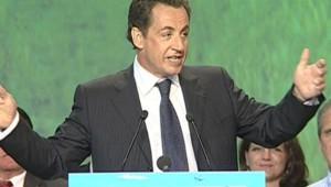 TF1/LCI : Nicolas Sarkozy, lors de son discours, mardi soir à Nîmes