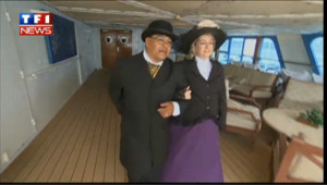 Titanic : croisière du souvenir en costumes d'époque
