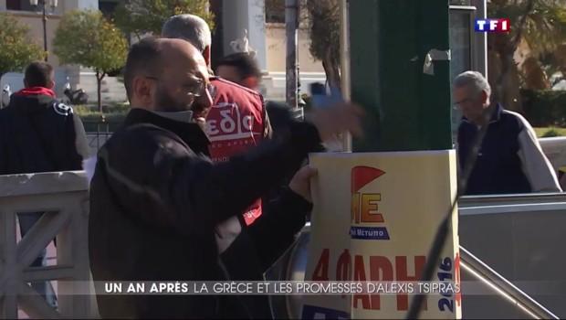 Un an après : Alexis Tsipras, premier ministre de la Grèce