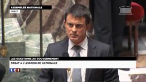 """Valls répète devant les députés """"regretter"""" ses propos sur le terrorisme"""