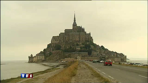 Voici le nouveau barrage du Mont-Saint-Michel