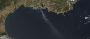 CAPTURE CIEL Marseille incendie image satellite