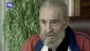 Fidel Castro à la télévision officielle le 22 septembre 2007
