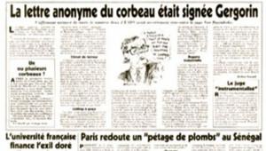 Gergorin article Canard enchaîné