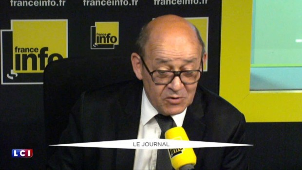 ISF : Jean-Yves Le Drian recadre Emmanuel Macron