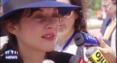 """Marion Cotillard à Manille : """"J'ai des convictions depuis presque toujours"""""""