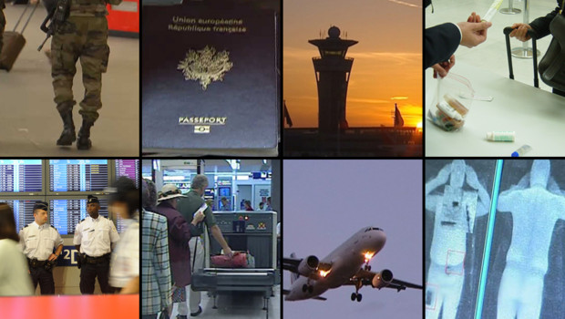sûreté aérienne aéroports terroristes attentats passeports scanners fouilles contrôles
