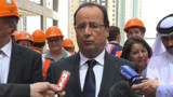 """VIDEO. Pour Hollande, les otages au Sahel sont """"vivants"""""""