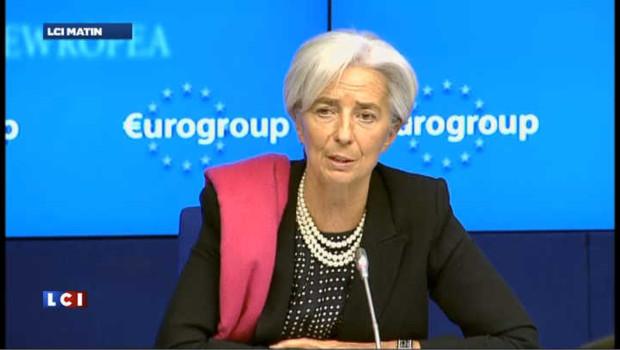 Christine Lagarde confiante sur l'avenir de la Grèce
