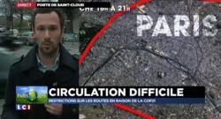 """COP21 : """"Demain toutes l'A1 et l'A6 et une bonne partie du périphérique vont être fermées"""""""