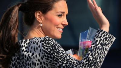 Kate Middleton en février 2015