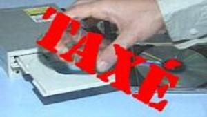 Les CD vierges taxés dès lundi