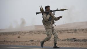 Rebelle libyen, mars 2011