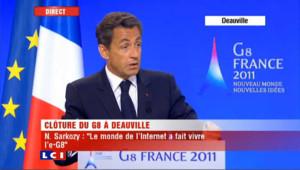 """Sarkozy sur DSK : """"des sentiments mêlés qui appartiennent à l'intime de chacun"""""""