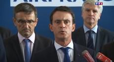 Agressions au siège de Roissy : Hollande et Valls réagissent