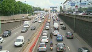 TF1/LCI - Sur le boulevard périphérique, la pollution atmosphérique est extrêmement élevée - 07/06/07