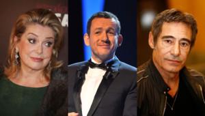 Catherine Deneuve, Dany Boon et Gérard Lanvin (Montage)