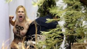 femen rome vatican féministe féminisme religion