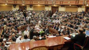 Egypte : réunion du Parlement, 10/7/12