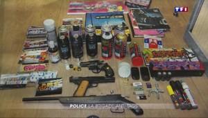 Groupe tags : la police part en guerre contre les tagueurs