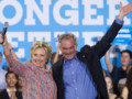 Hillary Clinton Tim Kaine démocrates USA Etats-Unis