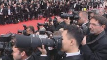 Les photographes sur le tapis rouge  Cannes. 