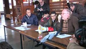 Les salariés de l'usine Philips de Dreux en assemblée générale (15 février 2010)