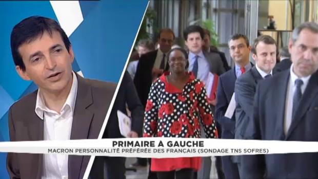 Selon un sondage sur une primaire à gauche, sans Hollande, Macron et Valls sont en compétition