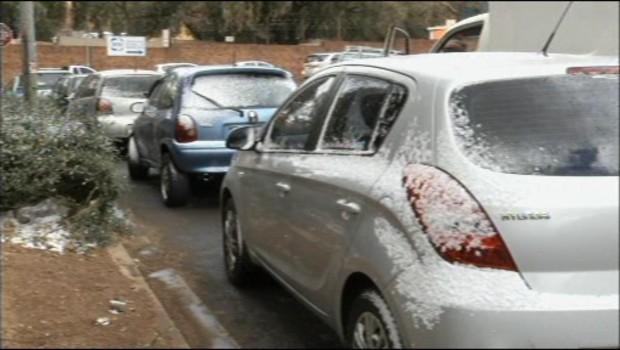 VIDEO : Il neige sur Johannesburg