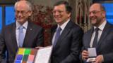 EN DIRECT - L'UE a reçu son prix Nobel de la Paix
