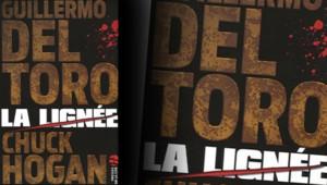 """Couverture de """"La lignée"""" de Guillermo Del Toro et Chuck Hogan, aux Presses de la cité."""